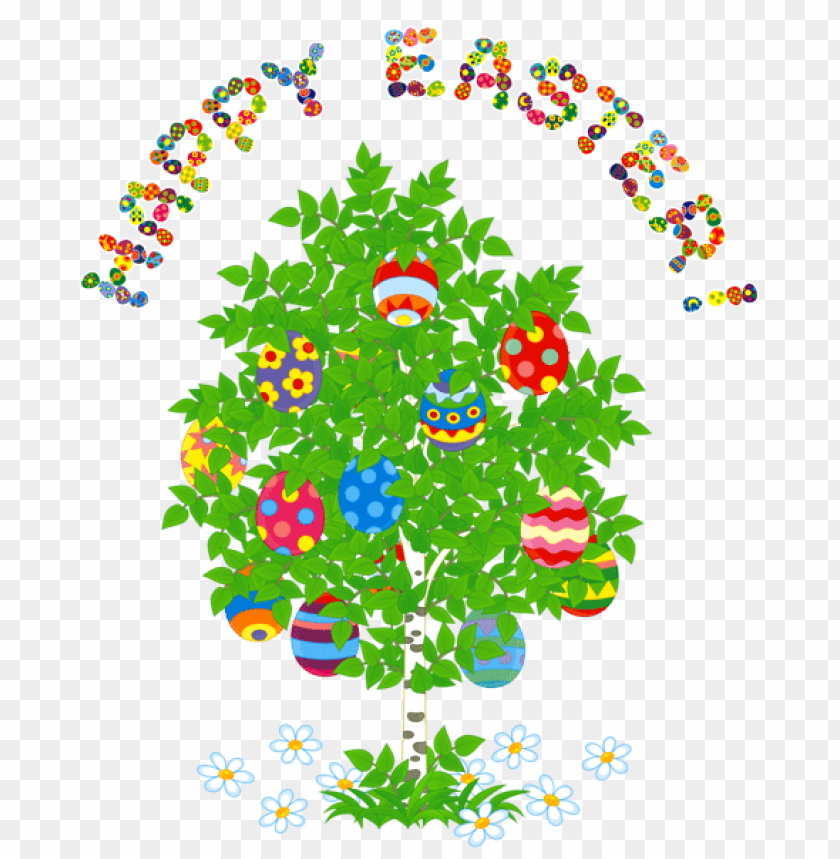 free PNG Download happy easter and egg treepicture png images background PNG images transparent