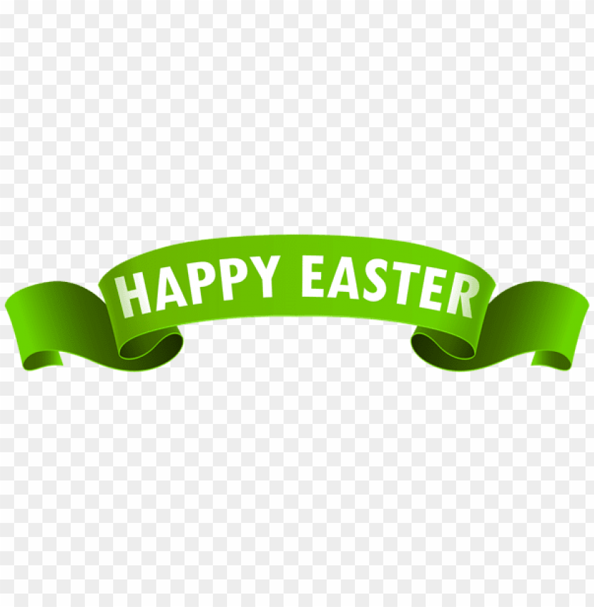 free PNG Download happy easter banner green png images background PNG images transparent