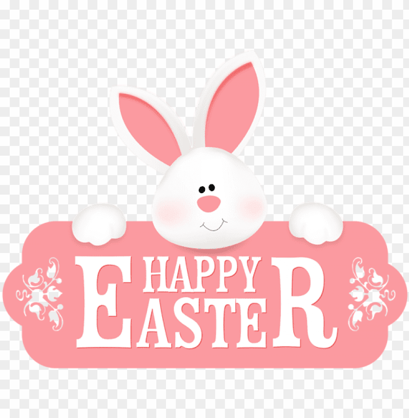 free PNG happy easter bunny PNG image with transparent background PNG images transparent