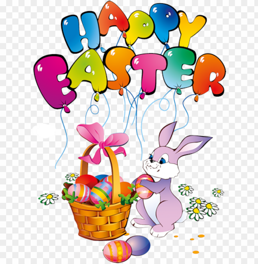 free PNG Download happy easter bunny transparent png images background PNG images transparent
