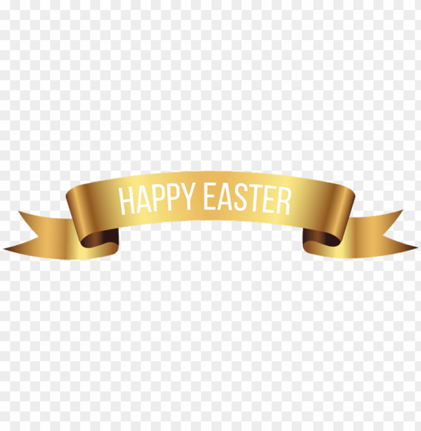 free PNG Download happy easter gold banner png images background PNG images transparent