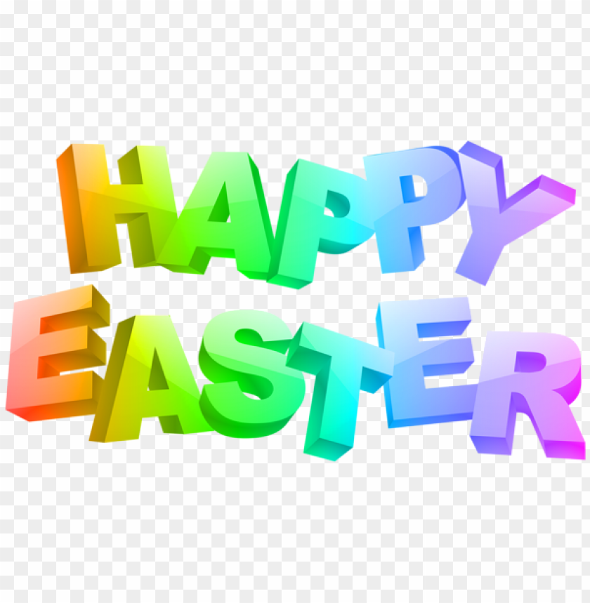free PNG Download happy easter text transparent png images background PNG images transparent