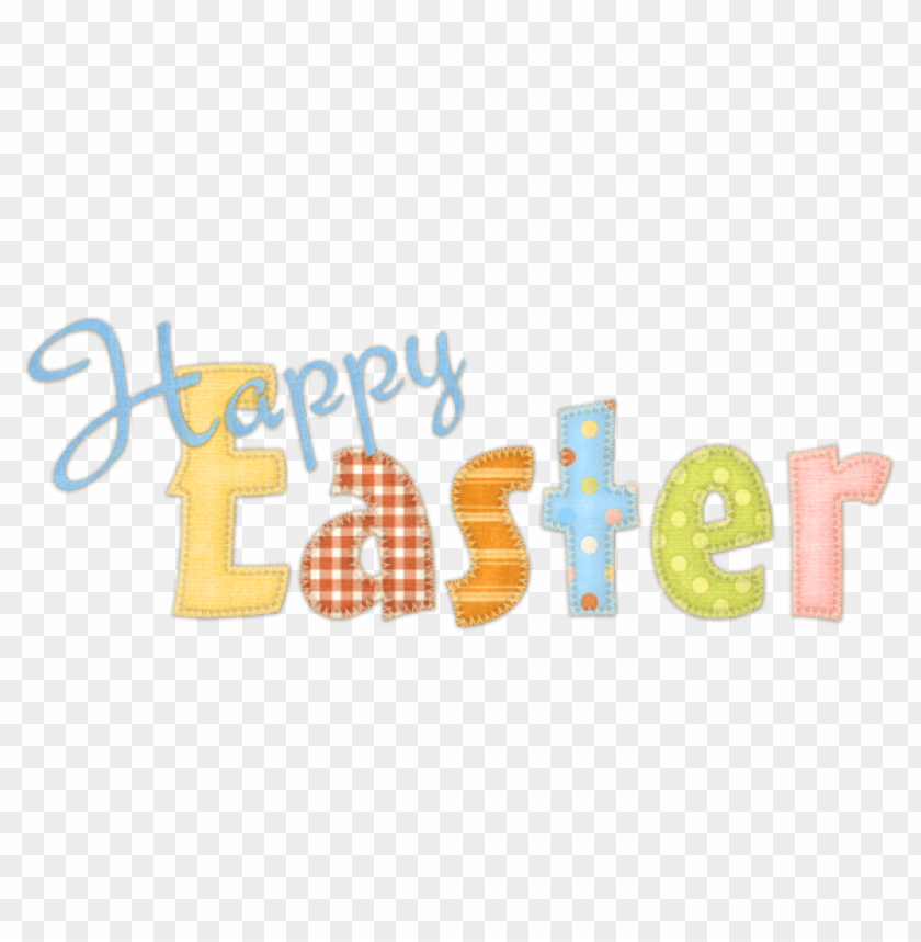 free PNG Download happy easter transparent text png images background PNG images transparent