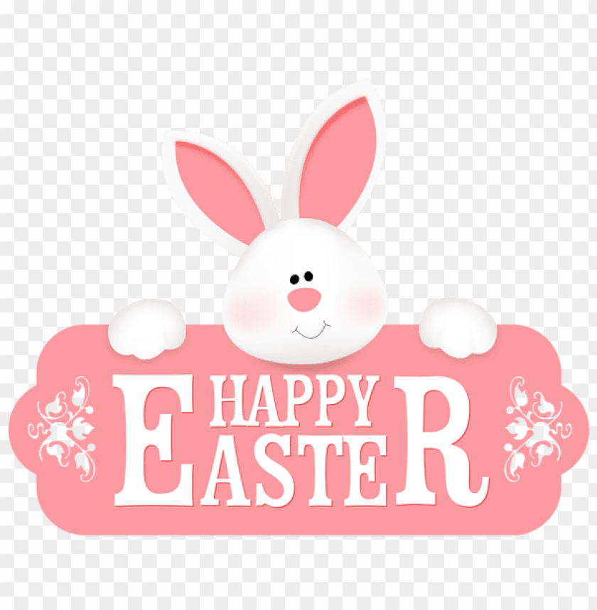 free PNG Download happy easter with bunny png images background PNG images transparent