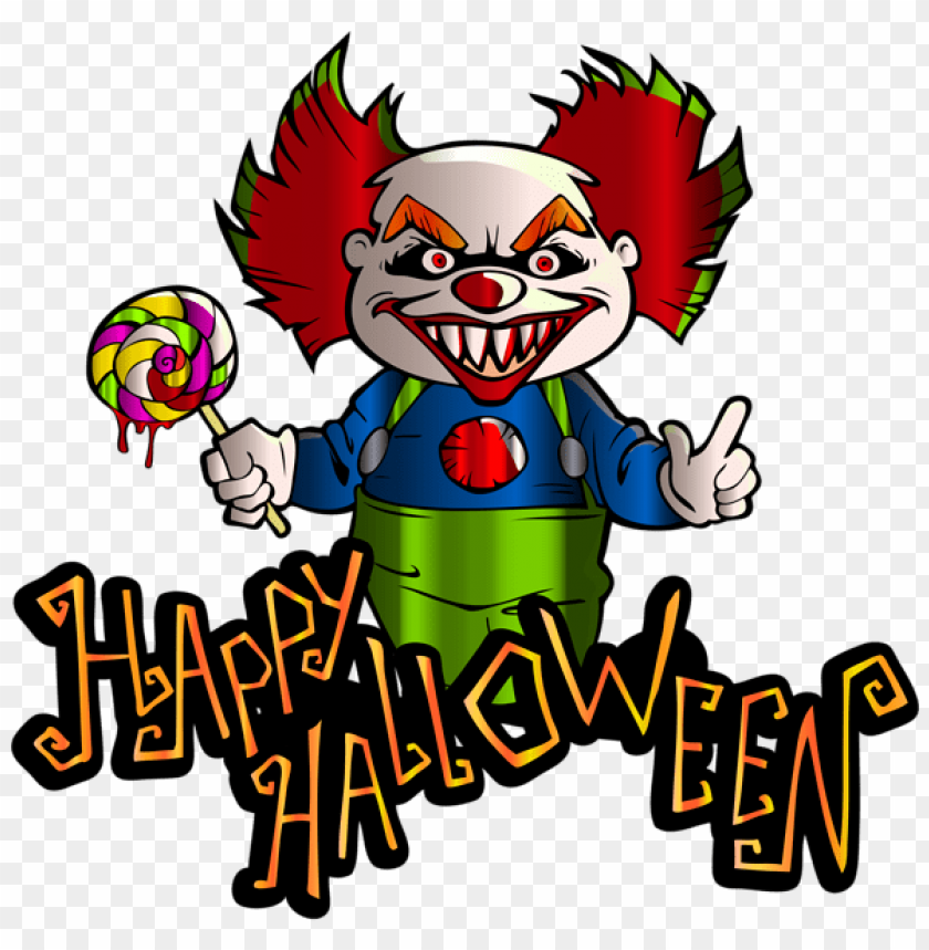 free PNG Download happy halloween with clown png images background PNG images transparent