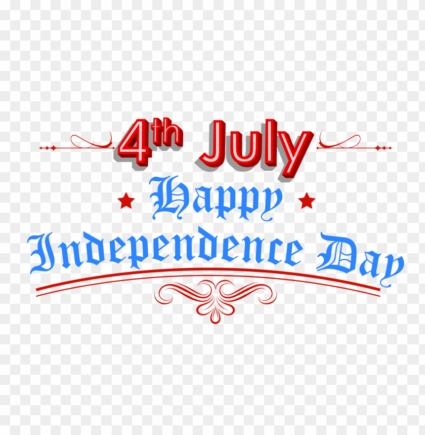 Download Happy Independence Day 4th July Png Images Background Toppng