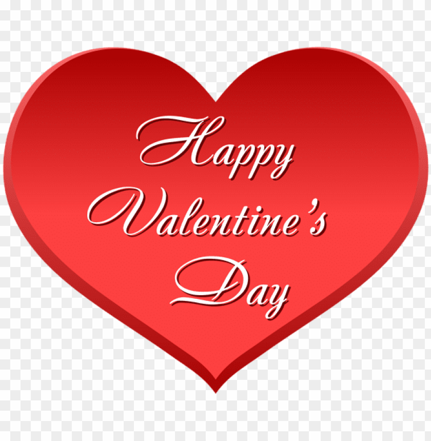Happy Valentine S Day Heart Png Free Png Images Toppng