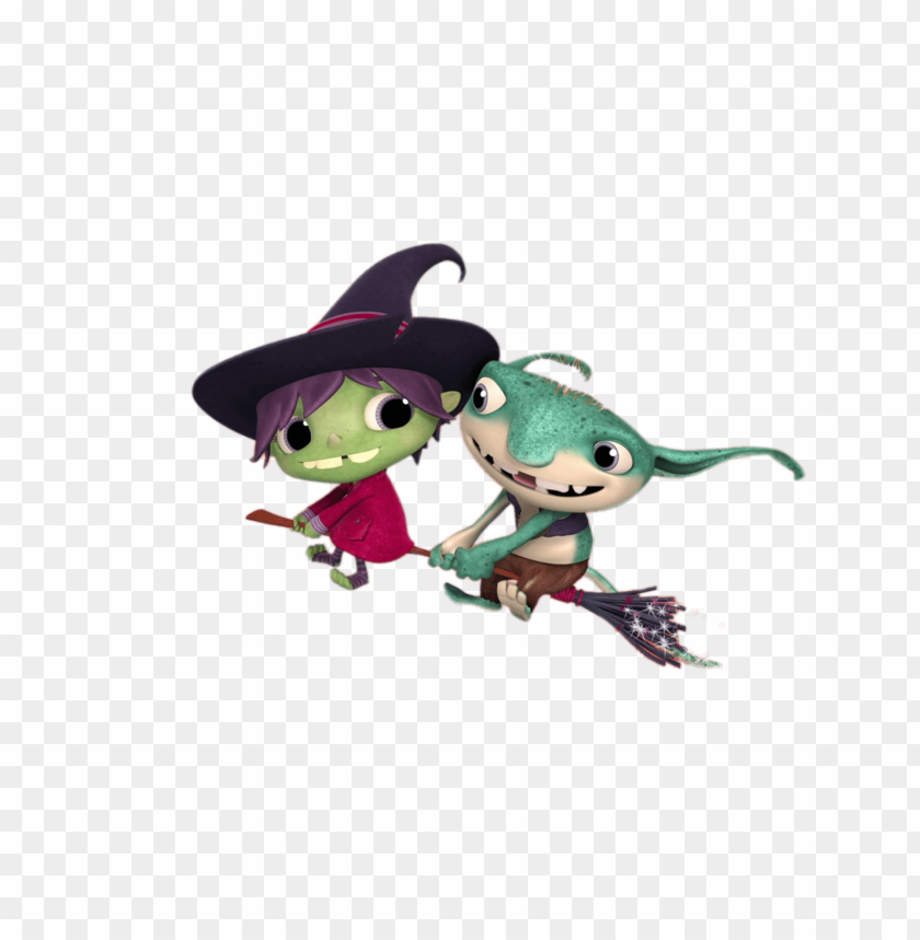 free PNG Download hattie the witch and bobgoblin clipart png photo   PNG images transparent