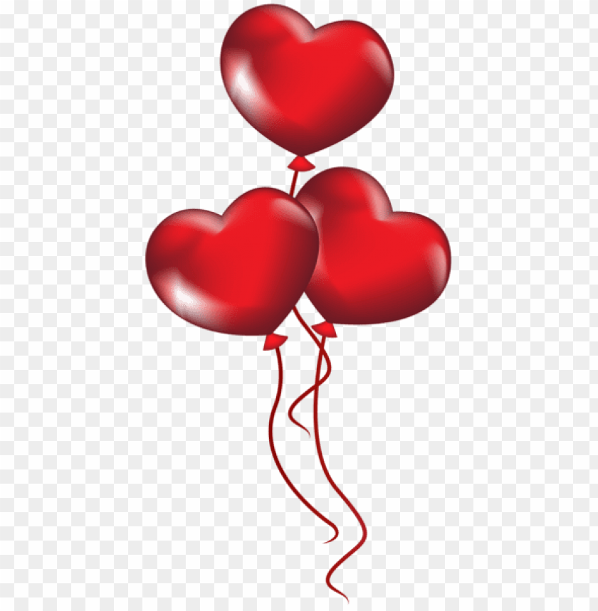 Heart Balloons Png Free Png Images Toppng
