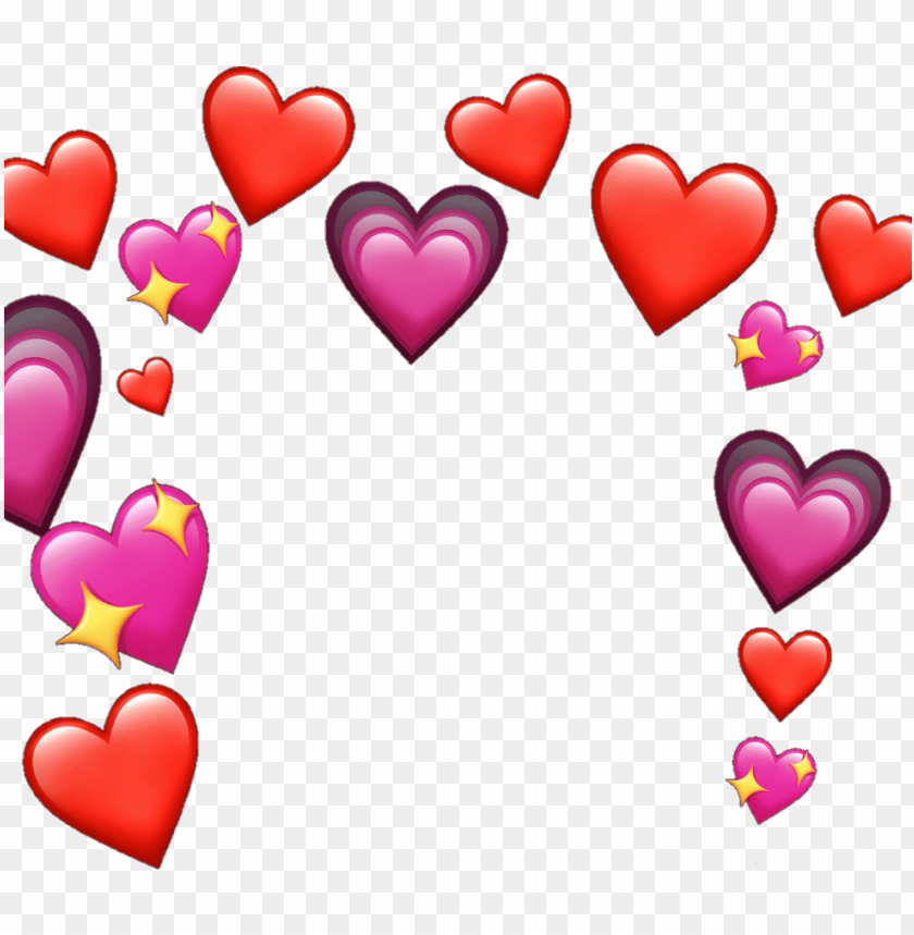 Heart Meme Heartmeme Sticker By Livvy Heart Meme Png Image With