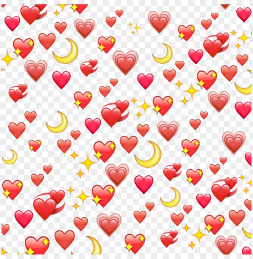 heart moon red tumblr stars yellow png tumblr stars - png