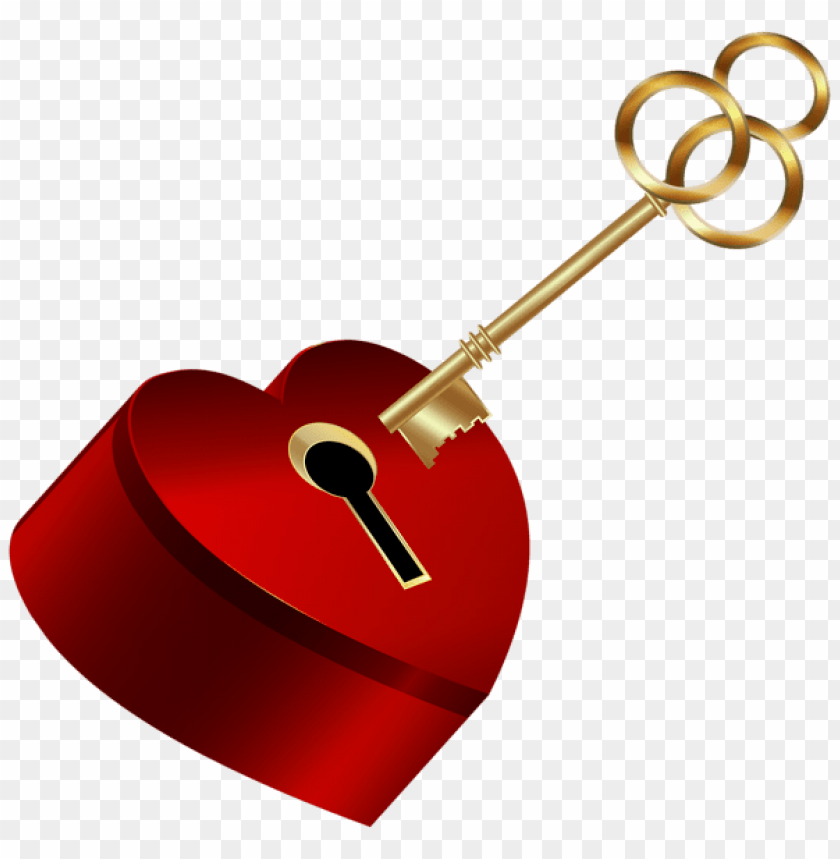 free PNG heart with key png - Free PNG Images PNG images transparent