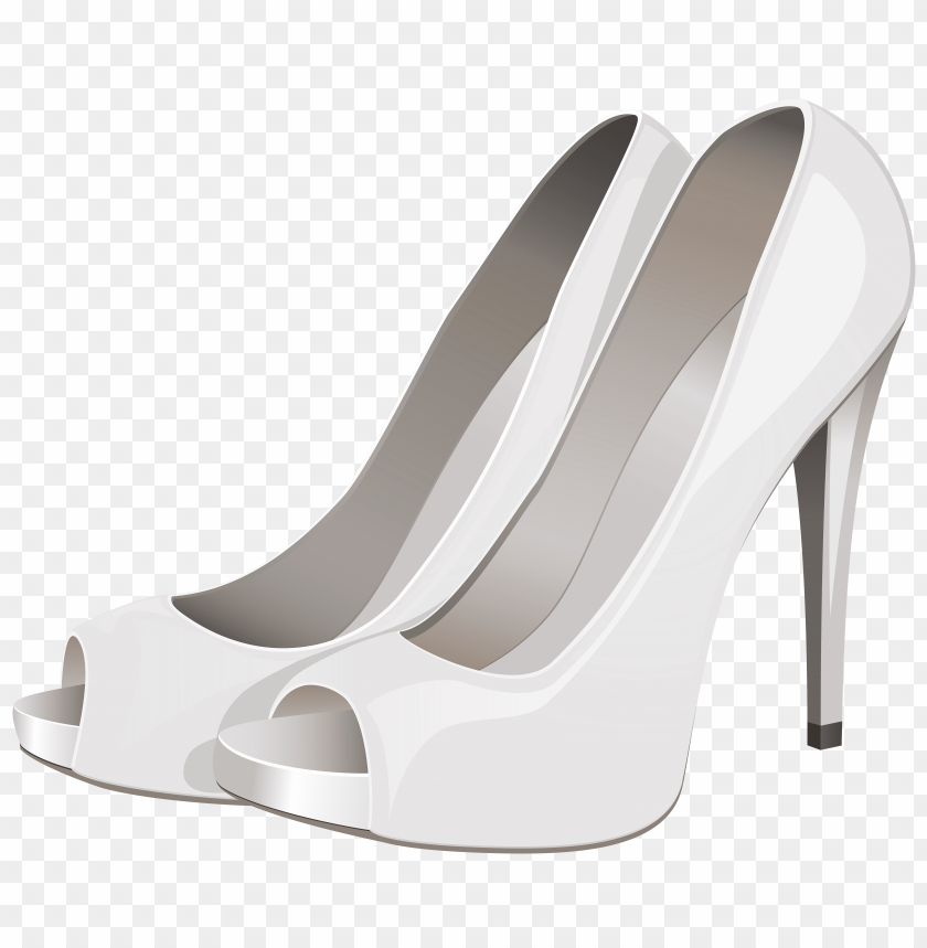 free PNG high heels white PNG images transparent