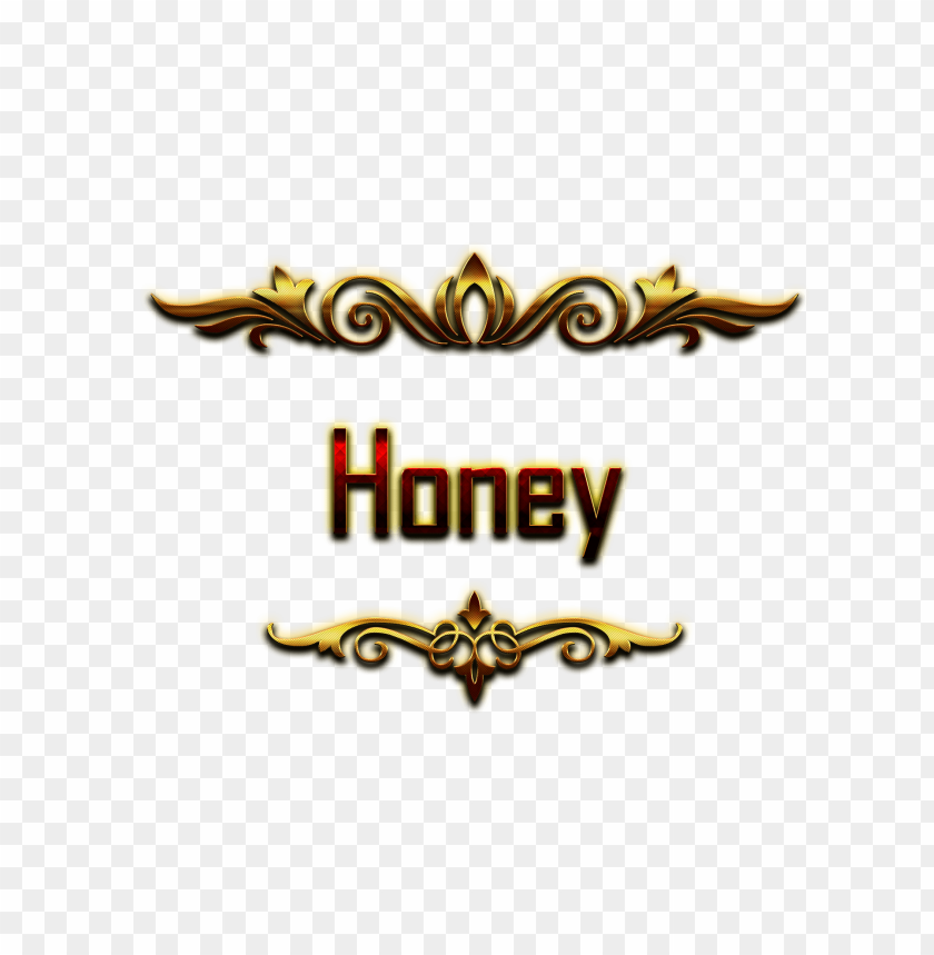 free PNG Download honey decorative name png png images background PNG images transparent