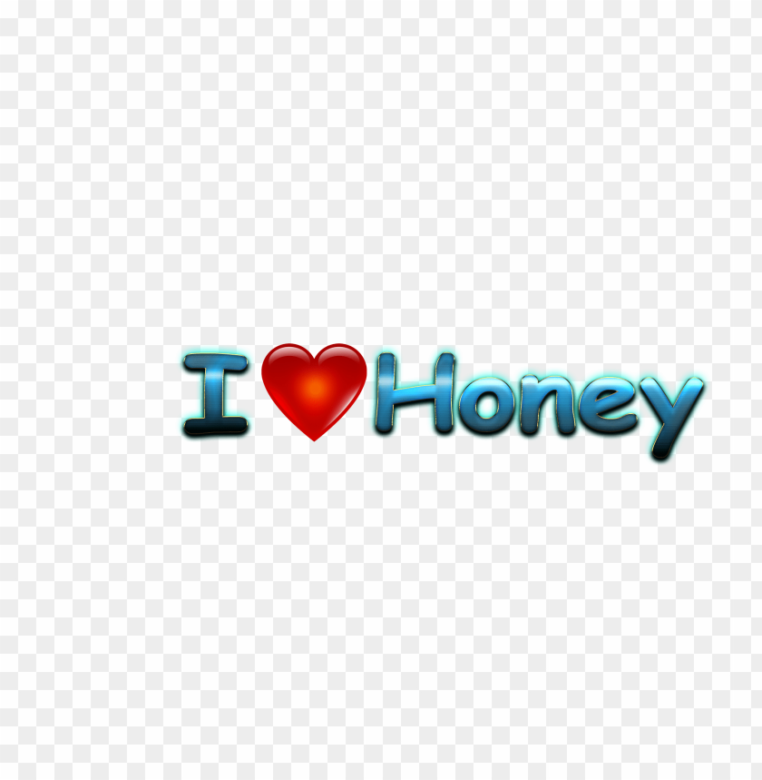 free PNG honey love name heart design png PNG images transparent