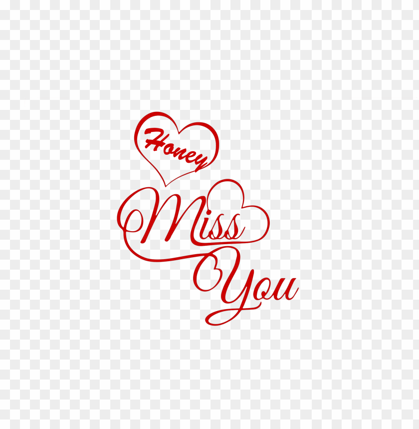 free png honey miss you name png PNG images transparent