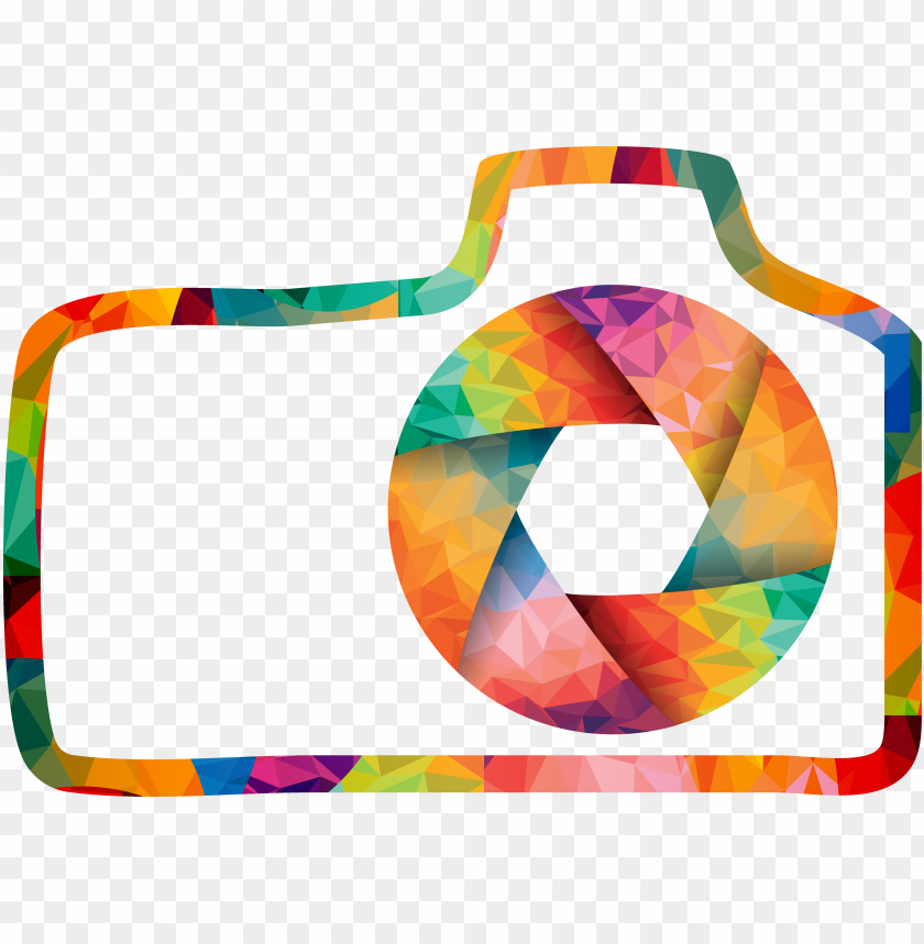 Hotographer Clipart Photography Contest Colorful Camera Logo Png Image With Transparent Background Toppng