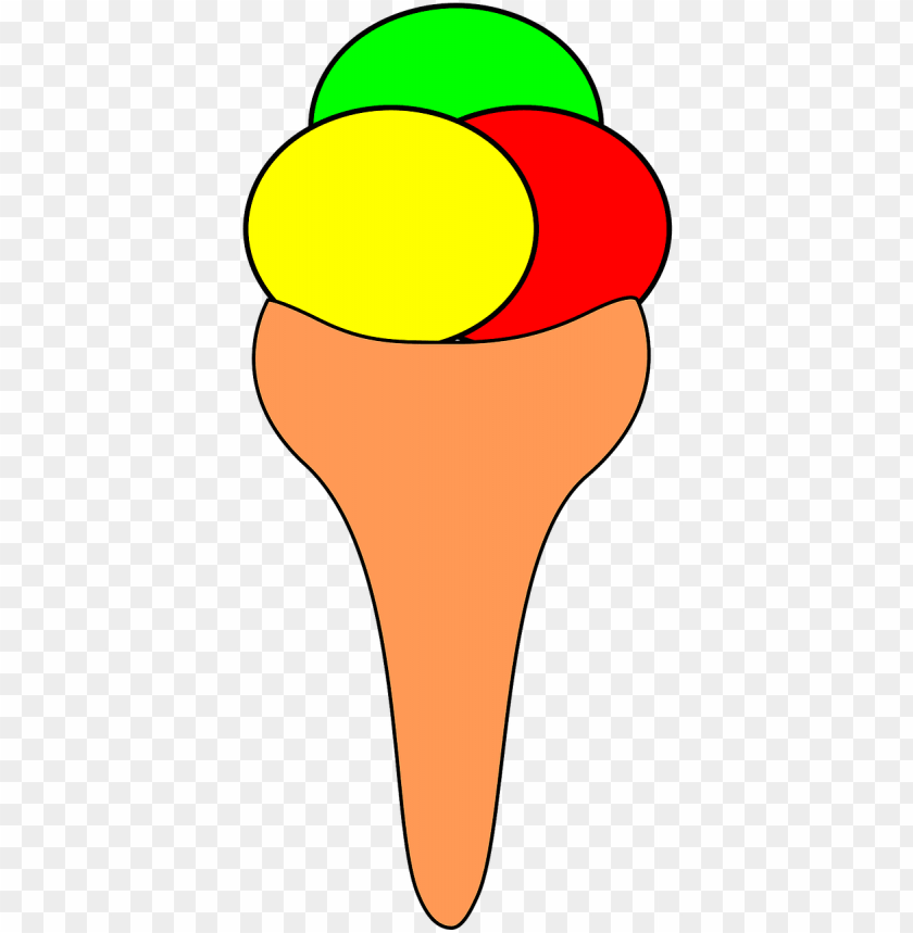 free PNG ice cream cone dairy dessert- رسم مثلجات PNG image with transparent background PNG images transparent