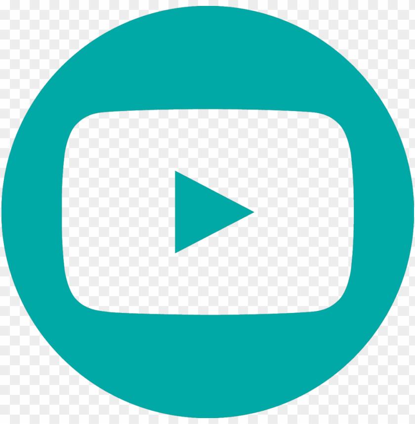 Icon Youtube Circle Youtube Logo Png Image With