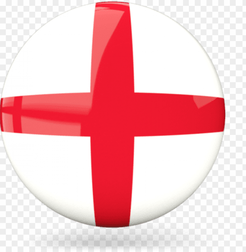 Illustration Of Flag Of England England Round Flag Png Image With Transparent Background Toppng