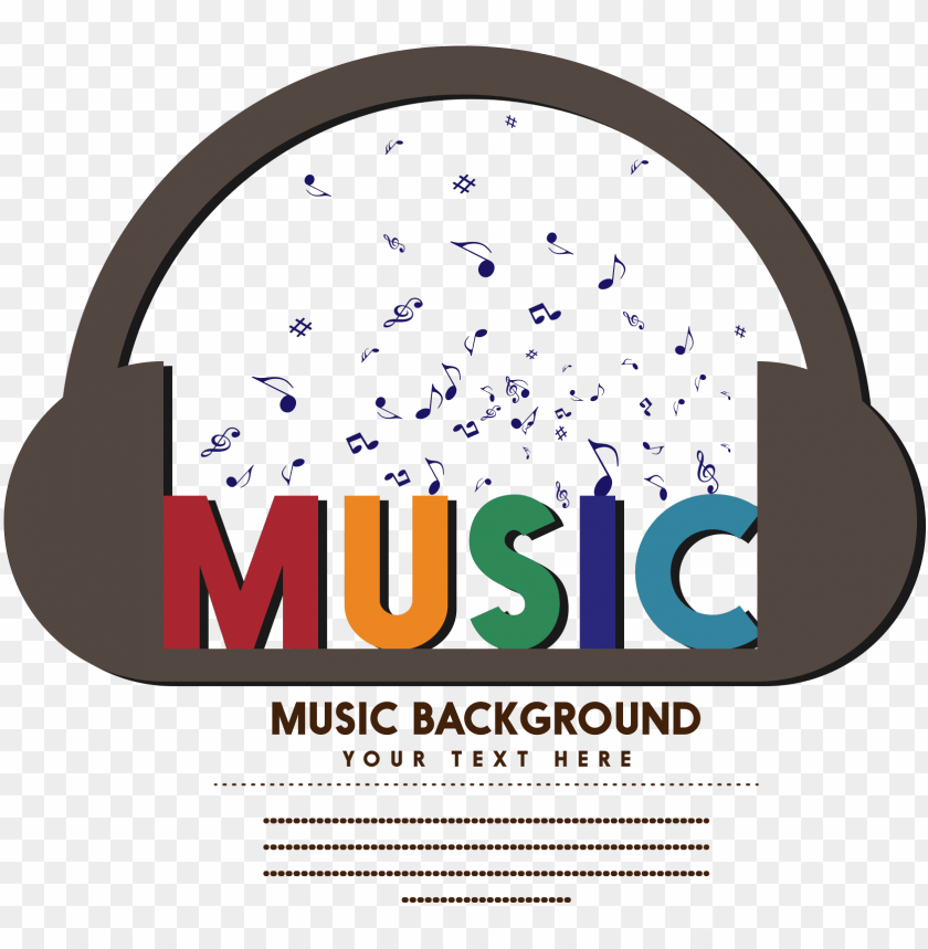 Image Black And White Download Musical Note Logo Headphones 3d Music Logo Desi Png Image With Transparent Background Toppng