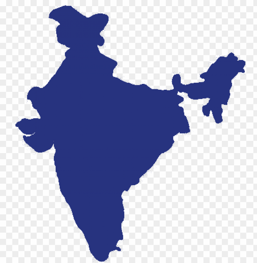 India Map Outline Png Image With Transparent Background Toppng