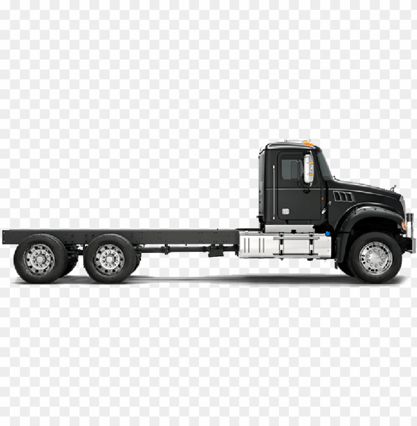 indian food truck - mack truck side view PNG image with
