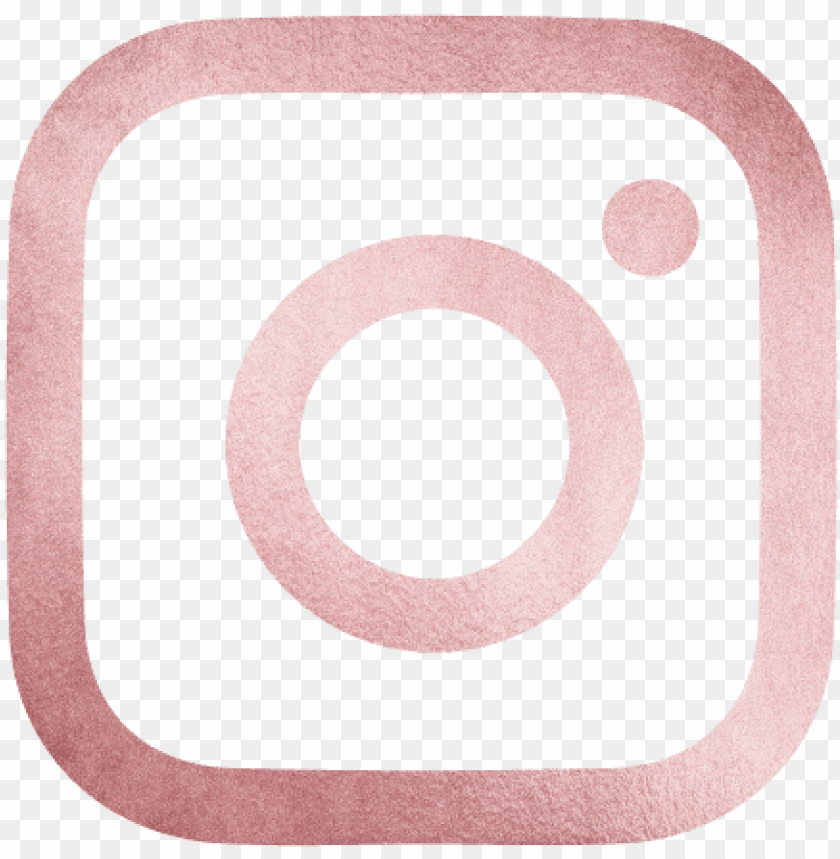 Instagram Logo Rose Gold Png Image With Transparent Background Toppng