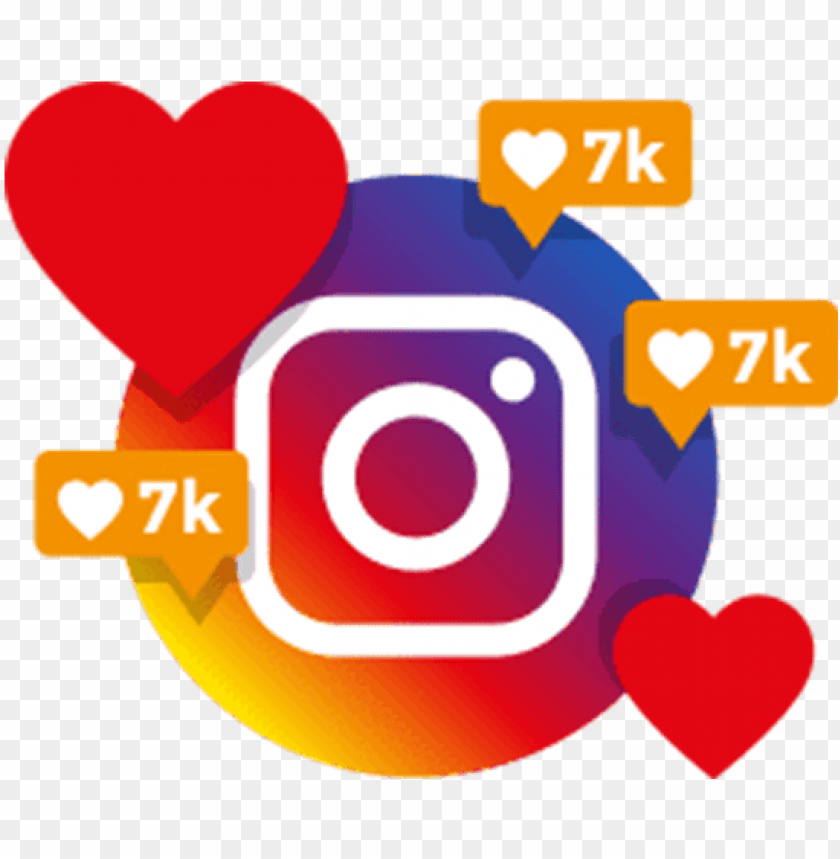 free PNG instant instagram likes - instagram likes PNG image with transparent background PNG images transparent