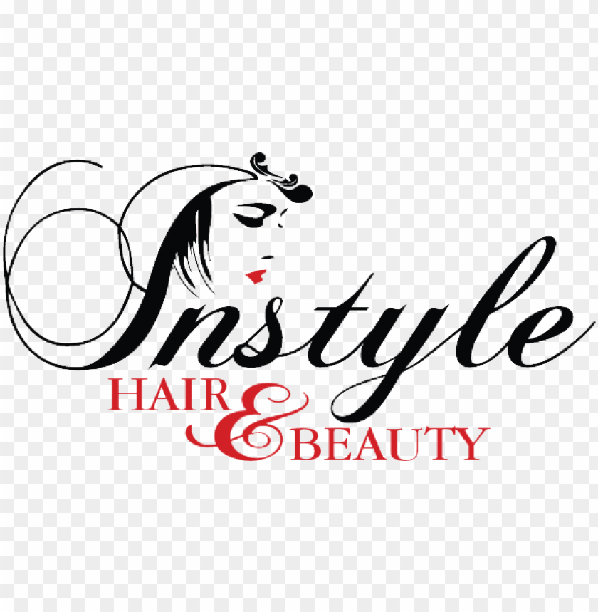 Instyle Beauty Salon Hairdresser Beauty Hair Salon Logo Png Image With Transparent Background Toppng