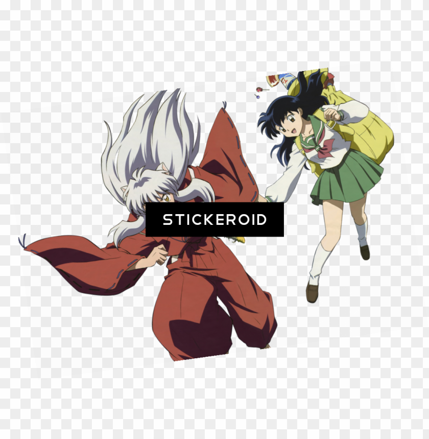 Inuyasha Anime Cartoons Cartoo Png Image With Transparent