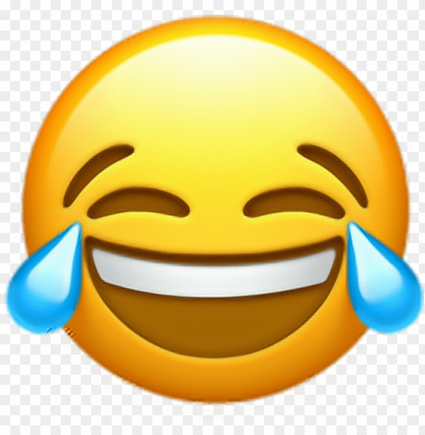 Ios 10 Crying Laughing Emoji Png Image With Transparent Background Toppng