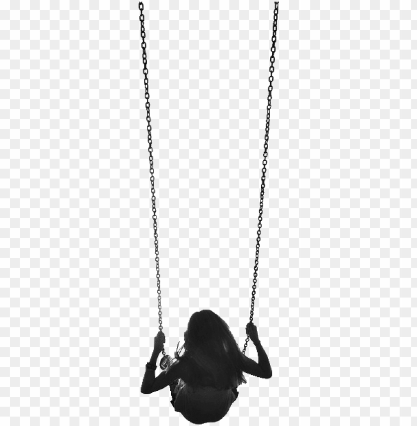 free PNG irl on a swing PNG image with transparent background PNG images transparent