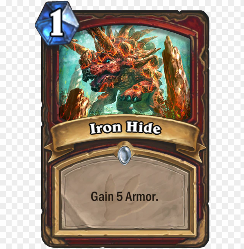 free PNG iron hide card - ironhide hearthstone PNG image with transparent background PNG images transparent