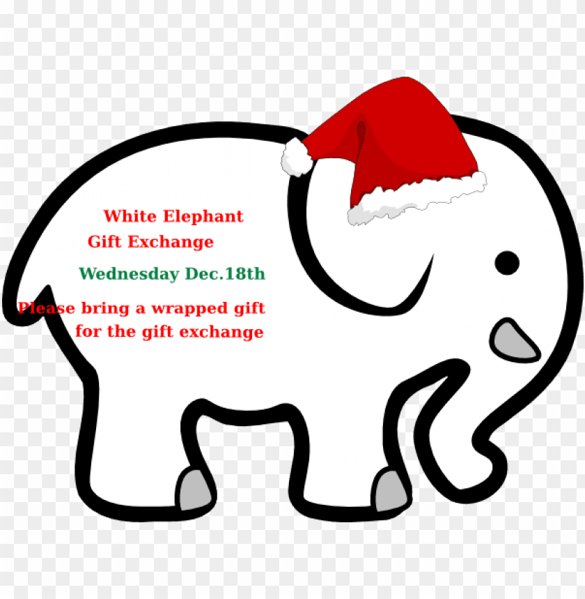 cfd056ff7164 free PNG ivory ella christmas elephant PNG image with transparent  background PNG images transparent