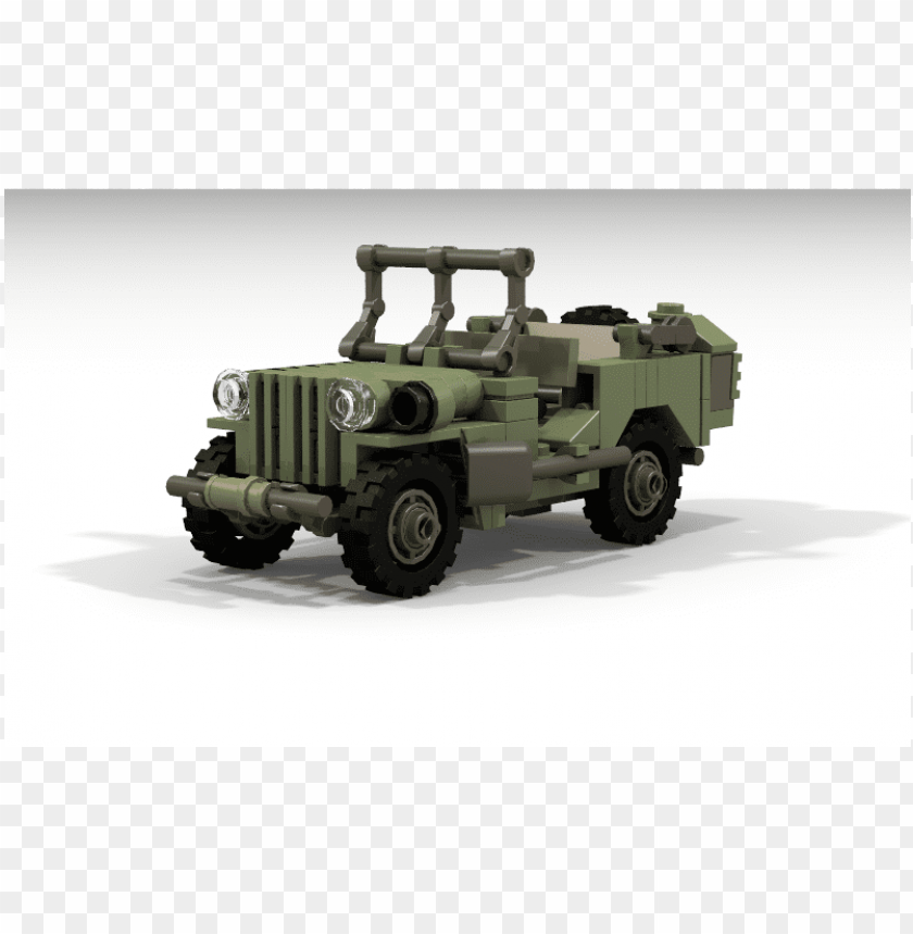 jeep-willys - lego ww2 willys jee PNG image with transparent