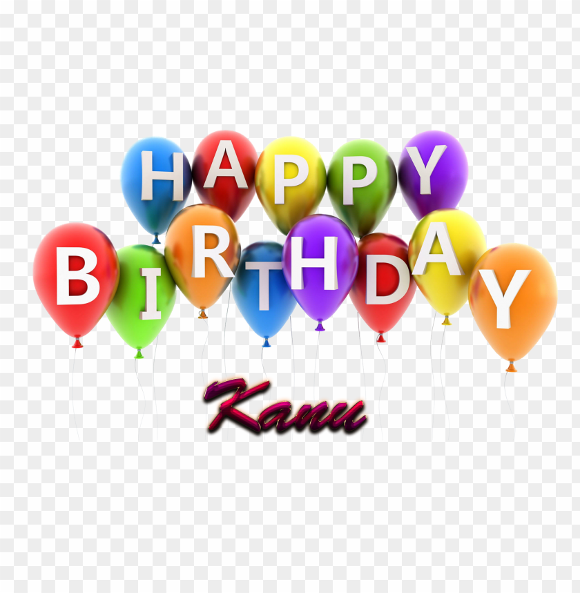 Free PNG Download Kanu Happy Birthday Vector Cake Name Png Images Background Transparent