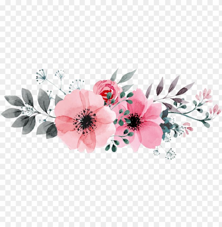 free PNG kết quả hình Ảnh cho floral flowers - transparent watercolor flowers flower png - Free PNG Images PNG images transparent