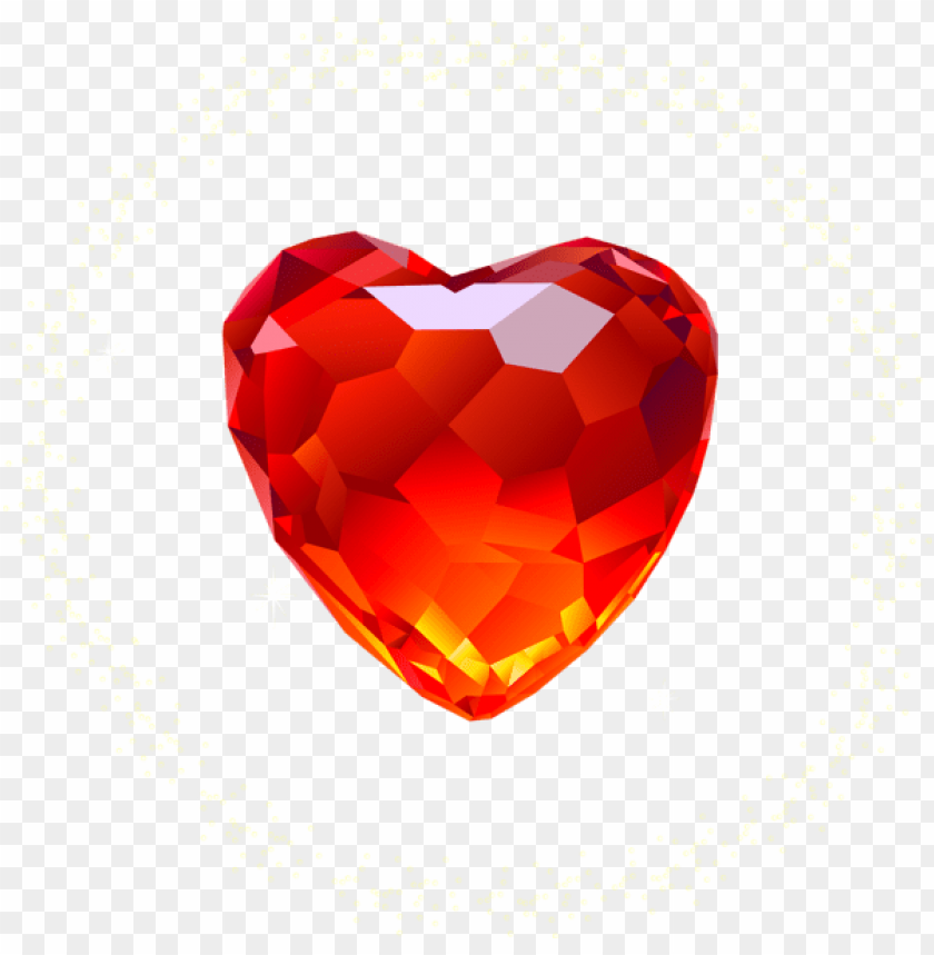 free PNG large red diamond heart png - Free PNG Images PNG images transparent