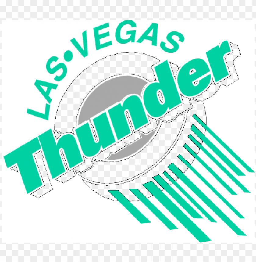 las vegas thunder logo PNG image with transparent background | TOPpng
