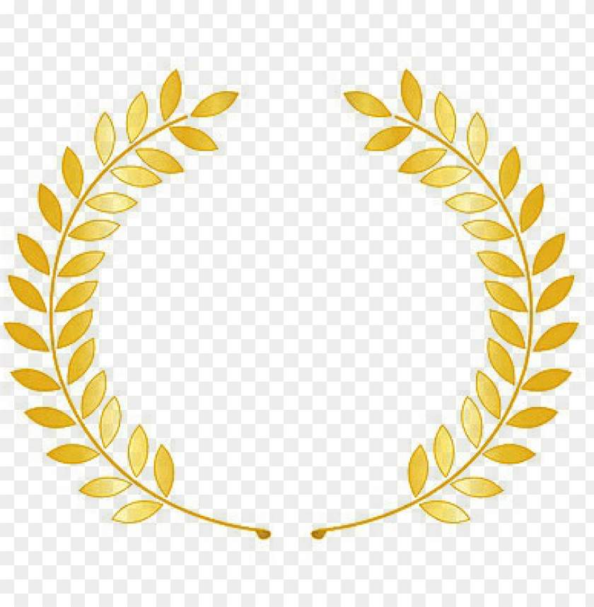 free PNG laurel wreath with ribbon - laurel wreath gold PNG image with transparent background PNG images transparent