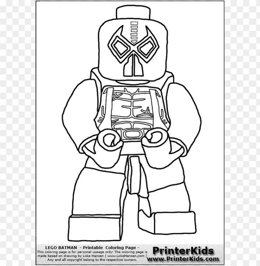 This is a graphic of Lego Batman Printable with party