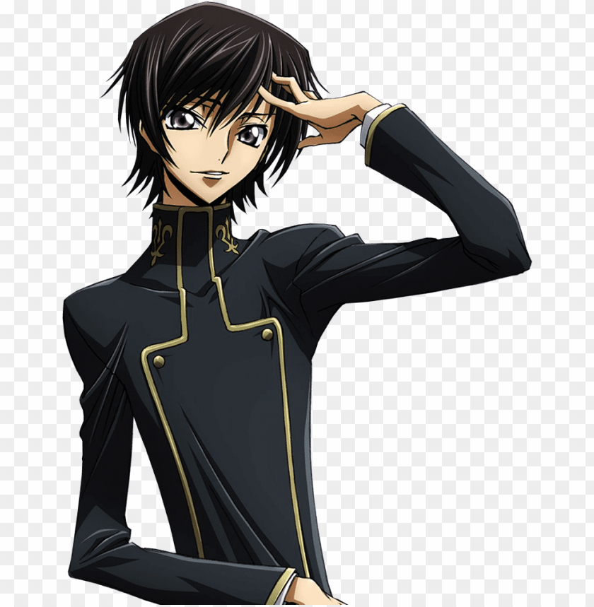 free PNG lelouch - code geass lelouch PNG image with transparent background PNG images transparent