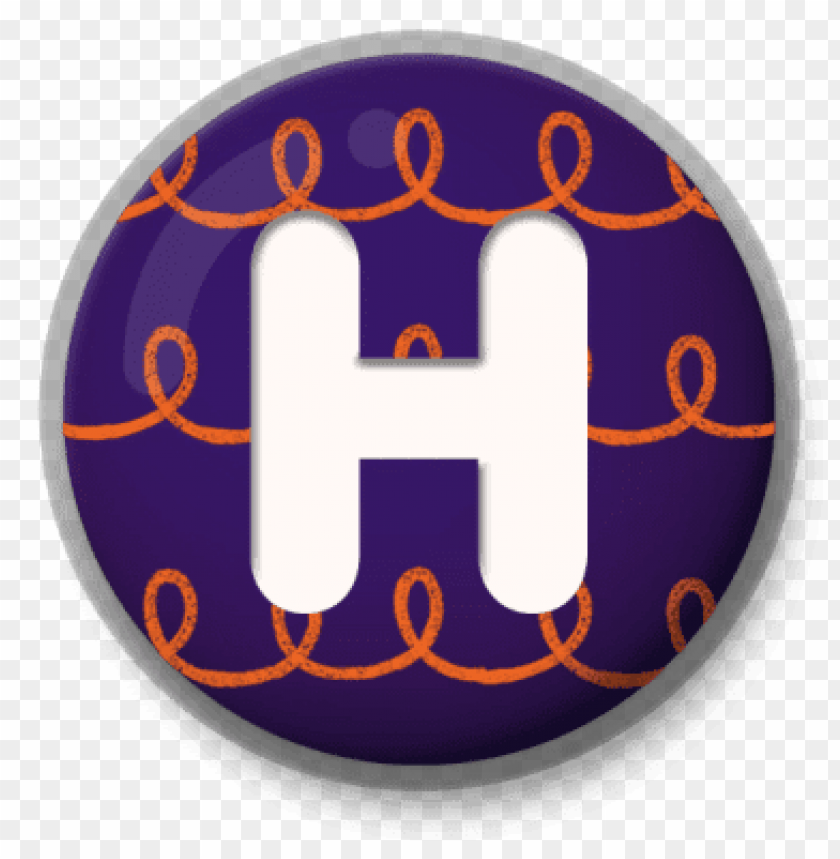 free PNG letter h festive roundlet PNG image with transparent background PNG images transparent
