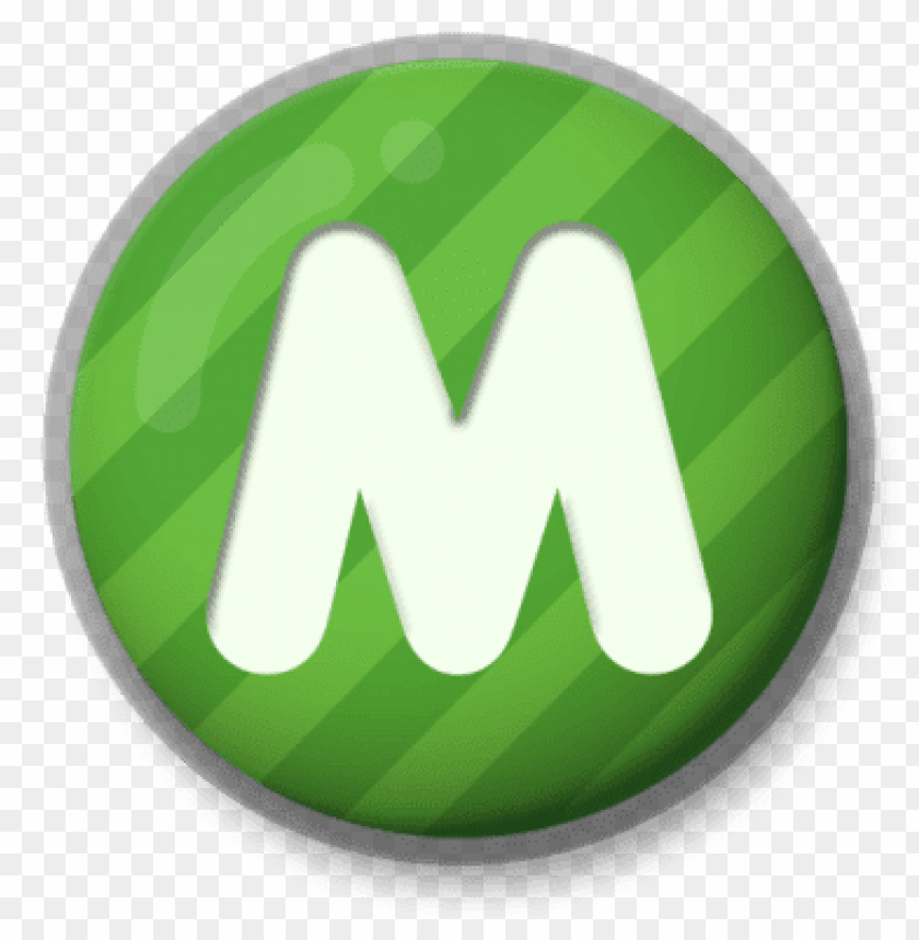 free PNG letter m green roundlet PNG image with transparent background PNG images transparent