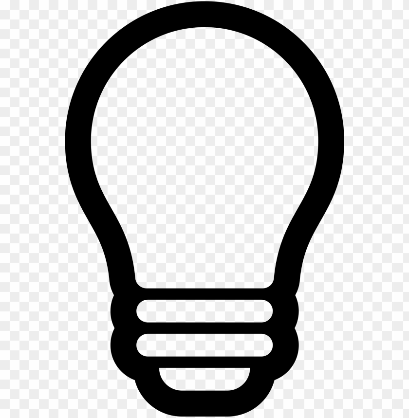 Lightbulb Svg For Free Download On Light Bulb Png Vector Png Image With Transparent Background Toppng