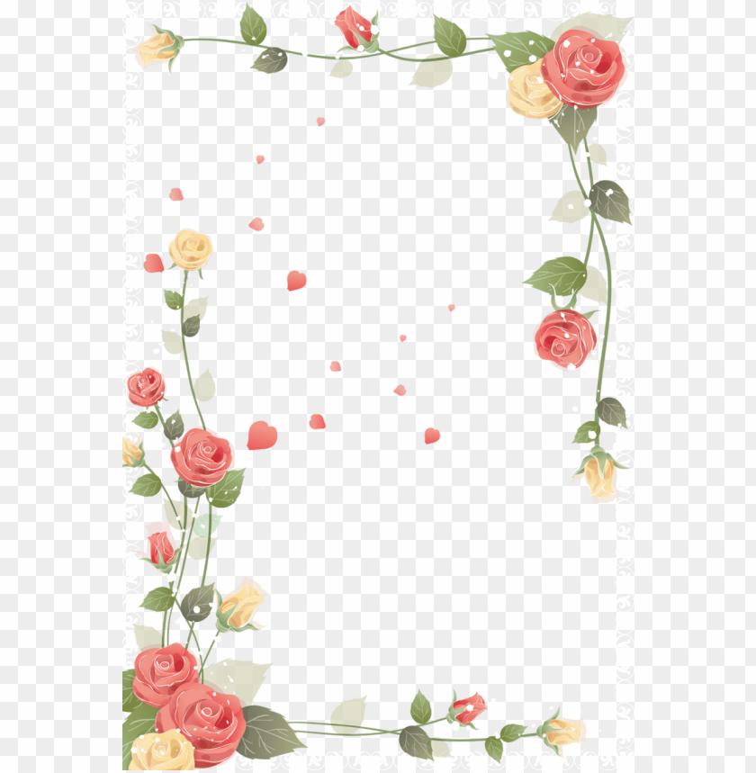 Lilac Flowers Border Clipart Flower Floral Design Clip Flowers