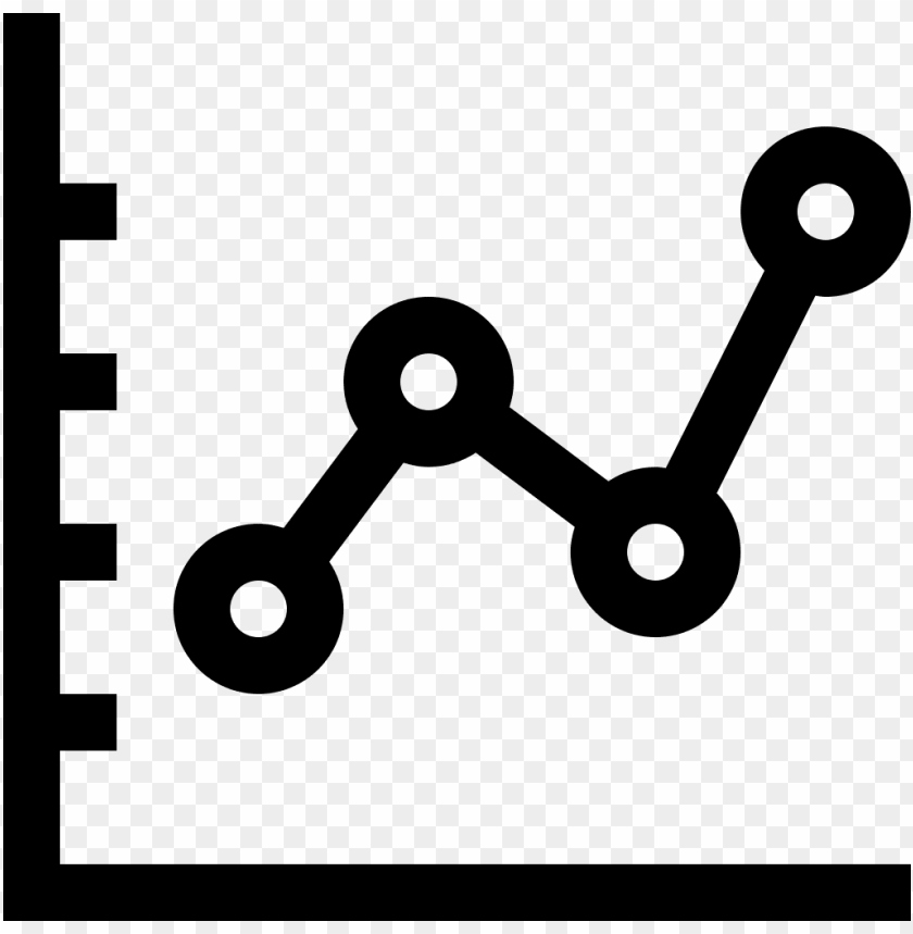 Line Chart Icon Line Graph Icon Vector Png Free Png Images
