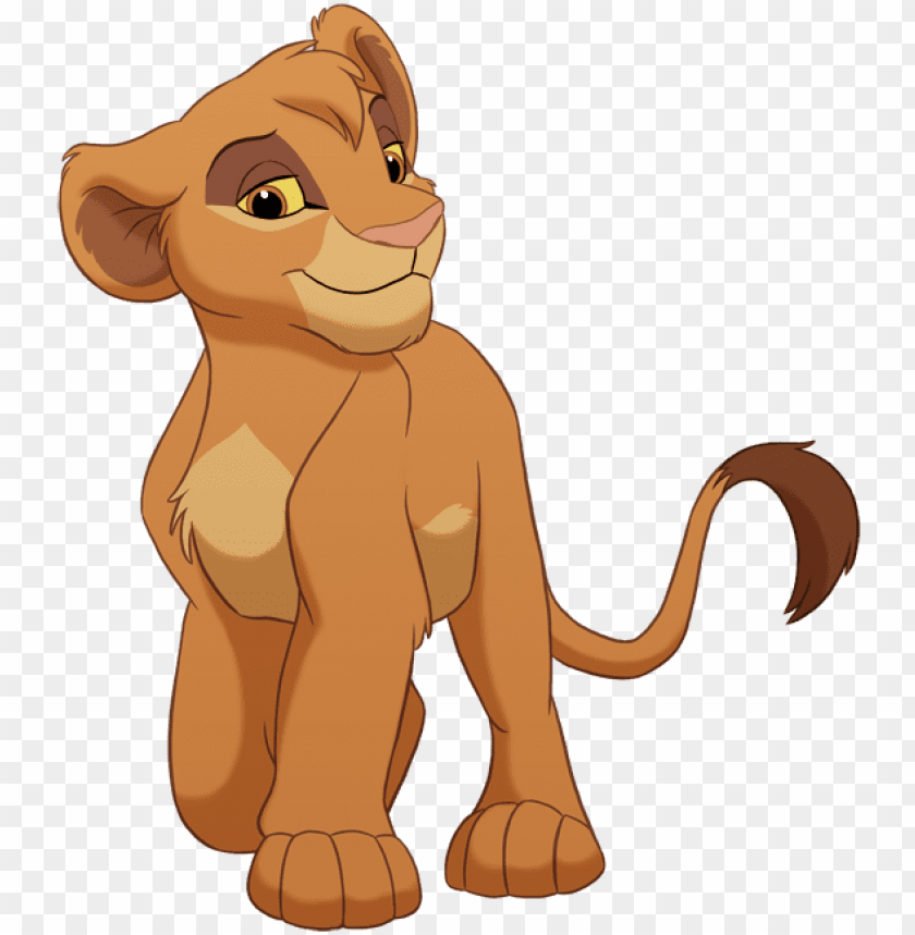 free PNG lion king png - lion king cub tama PNG image with transparent background PNG images transparent