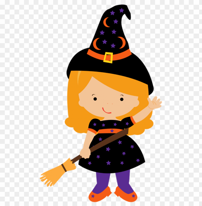 free PNG little witch PNG images transparent